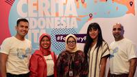 Remaja bisa tampil percaya diri dengan mengajarkan indahnya keberagaman budaya Indonesia (Liputan6/pool/Vinsensia Dianawanti)