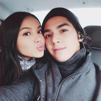Pasangan dari putra Maia Estianty ini sukses bikin baper. (Sumber foto: alyssadaguise/instagram)