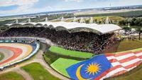 Sirkuit Sepang dinilai sebagai salah satu yang terbaik di ajang MotoGP. (MotoGP)