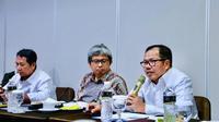 diskusi kegiatan strategis pengembangan koperasi dan UKM di Bogor, Jawa Barat, Senin (3/12/2018).