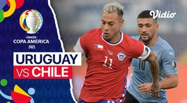 Berita video mini match Grup A Copa America 2021 antara Timnas Uruguay melawan Chile yang berakhir dengan skor 1-1, Selasa (22/6/2021) dinihari WIB.