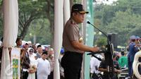 Wakapolri Komjen Pol Syafruddin. (Liputan6.com/Fery Pradan sambutan di hadapan santri dalam Upacara Hari Santri Nasional di silang Monas, Jakarta, Sabtu (22/10). Hari Santri Nasional ditetapkan pemerintah melalui Keppres nomolo)