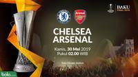Final Liga Europa 2019 - Chelsea Vs Arsenal (Bola.com/Adreanus Titus)
