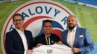 FK Senica mengumumkan kedatangan pemain asal Indonesia, Egy Maulana Vikri. (Instagram FK Senica).