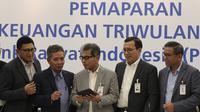 Pemaparan Kinerja Keuangan Triwulan III Tahun 2019 di Jakarta, Kamis (24/10).