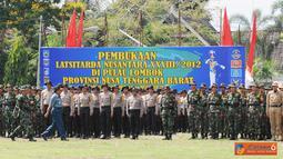 Citizen6, Nusa Tenggara Barat: Latsitardanus XXXIII 2012 diikuti oleh 1.738 Taruna dan Mahasiswa. (Pengirim: Badarudin Bakri).