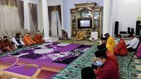 Prosesi adat Tenggeyamo dalam menentukan satu Ramadan di Gorontalo fto.Istimewa (Arfandi Ibrahim/Liputan6.com)