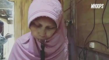 Kondisi ini tak mengurangi semangat hidupnya dari penyakit yang diderita dari umur 10 tahun ini.