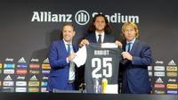 Adrien Rabiot resmi menjadi pemain Juventus. (dok. Juventus)