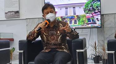 Menkes Budi Gunadi Sadikin saat mengunjungi RSHS Bandung, 30 Desember 2020. (Foto: Liputan6com/AdityaEkaPrawira)
