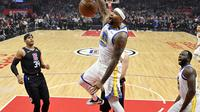 DeMarcus Cousins jalani debut bersama Warriors di NBA (AP)
