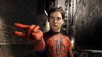 Tobey Maguire di film Spider-Man. Foto: via flickeringmyth.com