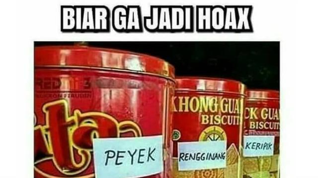 Top 3 Meme Lucu Kaleng Biskuit Lebaran Citizen6 Liputan6 Com
