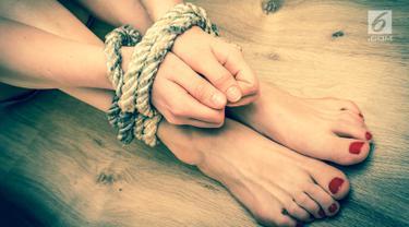 Ilustrasi perbudakan seksual