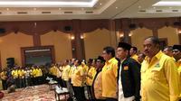 Ketua Umum Partai Golkar Airlangga Hartarto menemui fungsionaris Partai Golkar di Mataram, Nusa Tenggara Barat (NTB). (Istimewa)