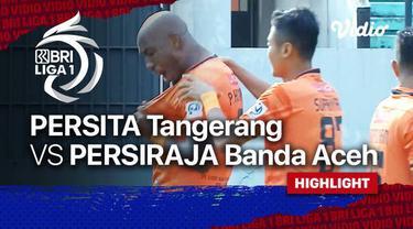 Berita video highlights laga pekan ke-7 BRI Liga 1 2021/2022 antara Persita Tangerang melawan Persiraja Banda Aceh yang berakhir dengan skor 1-1, Sabtu (16/10/2021) sore hari WIB.