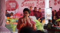 Nila Moeloek meminta kepada warga rutan dan lapas untuk mengetahui status HIV-nya dengan melakukan pengecekan HIV. (Foto: Sehat Negeriku - Humas Kementerian Kesehatan)