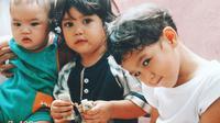 Maia Estianty mengunggah potret imut ketiga putranya saat kecil (Dok.Instagram/@maiaestiantyreal/https://www.instagram.com/p/B-gehyeHKMU/Komarudin)