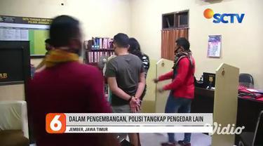 Tim Polsek Jenggawah Jember, Jawa Timur menangkap seorang pengedar obat terlarang jenis trihexyphenidyl. Dalam penangkapan tersebut, polisi menemukan paket puluhan obat keras, motor, uang jutaan rupiah, serta hp. Tersangka mengaku sebagai kurir.