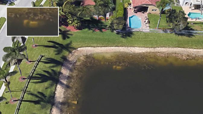 Temuan jasad pria yang hilang selama  22 tahun berkat Google Earth. (Dokumentasi Google Earth)