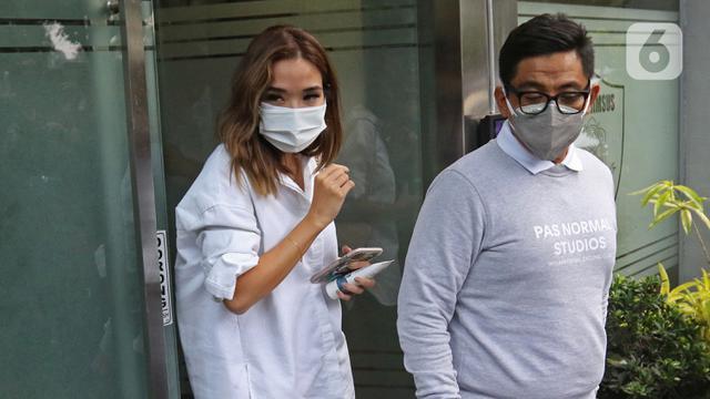 FOTO: Kasus Video Syur, Gisel Penuhi Panggilan Polda Metro Jaya