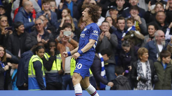 Bek Chelsea David Luiz (AP Photo/Matt Dunham)