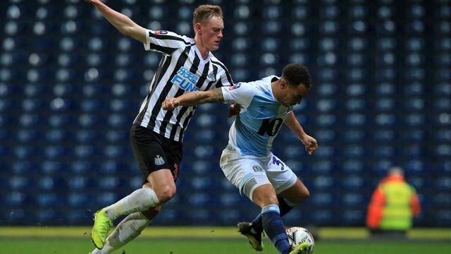 Gelandang Newcastle United, Sean Longstaff.
