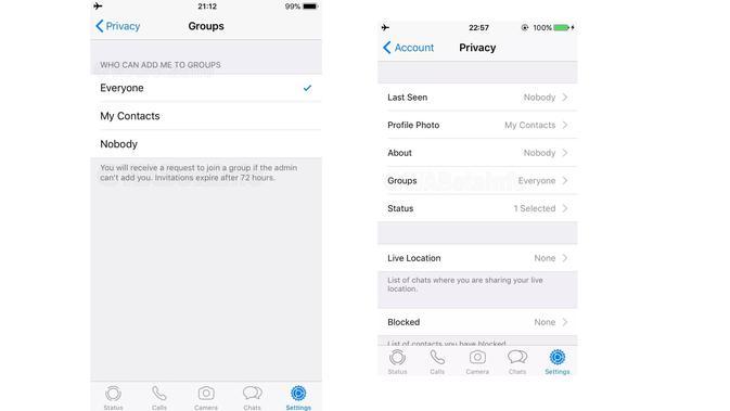 Fitur baru di WhatsApp sedang diuji coba (Foto: 9to5Google)