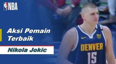 Berita Video aksi-aksi terbaik dari pemain Denver Nuggets, Nikola Jokic