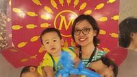 Maria titipkan anaknya, Pandum di Zwitsal Day Care milik PT Unilever Indonesia, Tbk baru beroperasi pada 2017. (Arsip PT Unilever Indonesia, Tbk)