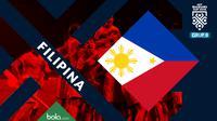 Piala AFF 2018 Timnas Filipina (Bola.com/Adreanus Titus)