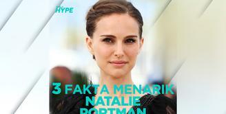 Seperti apa fakta menarik Natalie Portman? Yuk, kita cek video di atas!