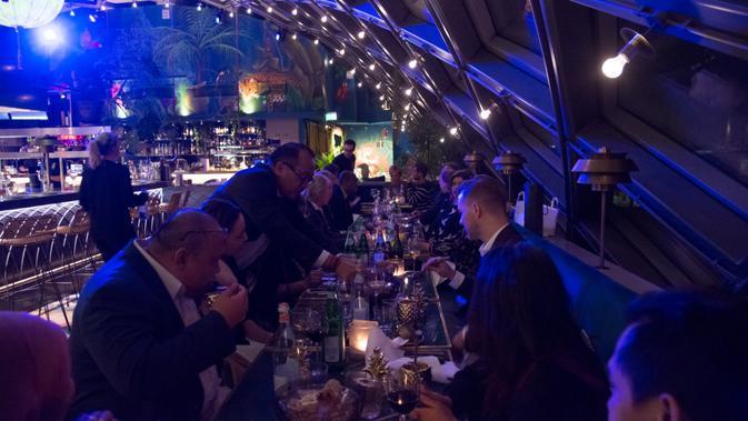 Restoran Ron Gastrobar di Belanda resmi dinuka pada Sabtu, 19 Januari 2019. (Liputan6.com/KBRI Den Haag)