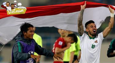 Vietnam vs Indonesia. (Bola.com/Peksi Cahyo)