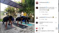 Arief Muhammad belakangan cukup sering menggunggah video sedang berolahraga. Ternyata, berat badannya sudah turun 2 kilogram dalam 2 minggu (sumber: https://www.instagram.com/p/CPmbmIjD3tg/)