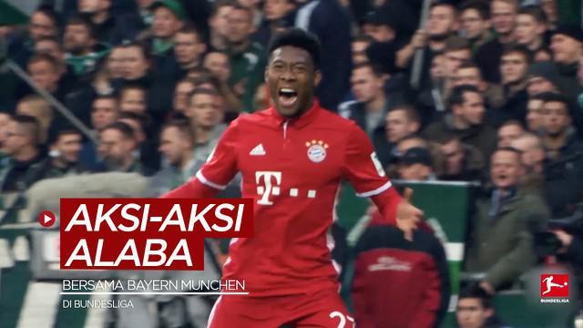 Berita video aksi-aksi mengesankan dari David Alaba, bek baru Real Madrid, saat di Bundesliga.