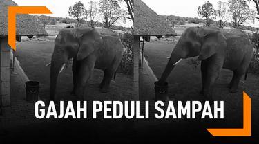Gajah Peduli Sampah