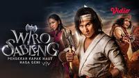Film Wiro Sableng dapat disaksikan melalui platfrom streaming Vidio. (Dok. Vidio)