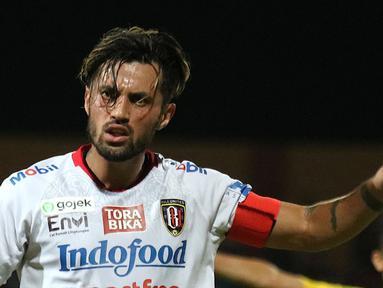 Gelandang Bali United, Stefano Lilipaly. (Bola.com/Aditya Wany)