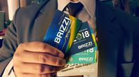 Transaksi uang elektronik Brizzi tumbuh tujuh kali lipat.