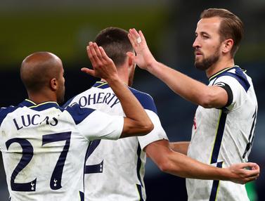 Harry Kane Cetak Hattrick, Tottenham Pesta Gol di Play-off Liga Europa 2020/2021
