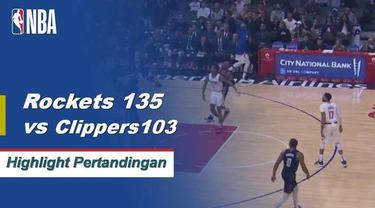 The Rockets meniup Clippers dengan James Harden mencetak 31 poin dan Chris Paul membuat 29 dalam kemenangan.