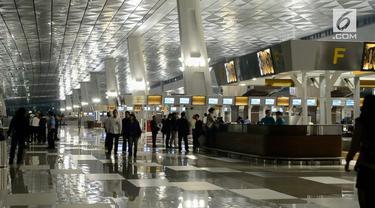 Pengelola Bandara Soekarno Hatta memastikan tidak ada nama Rizieq Shihab dalam manife penerbangan Arab Saudi.