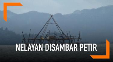 Dua nelayan di Tapanuli tewas tersambar petir saat mengambil ikan.