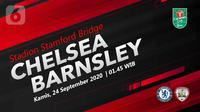 Chelsea vs Barnsley (Liputan6.com/Abdillah)
