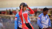 Pembalap Sepeda Indonesia, Crismonita Dwi Putri. (ISSI)