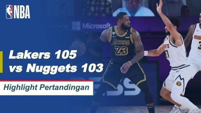 Berita Video Menang Dramatis, LA Lakers Berhasil Kalahkan Denver Nuggets Dibabak Final Wilayah Barat Playoff NBA