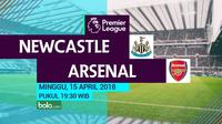 Premier League_Newcastle United Vs Arsenal (Bola.com/Adreanus Titus)