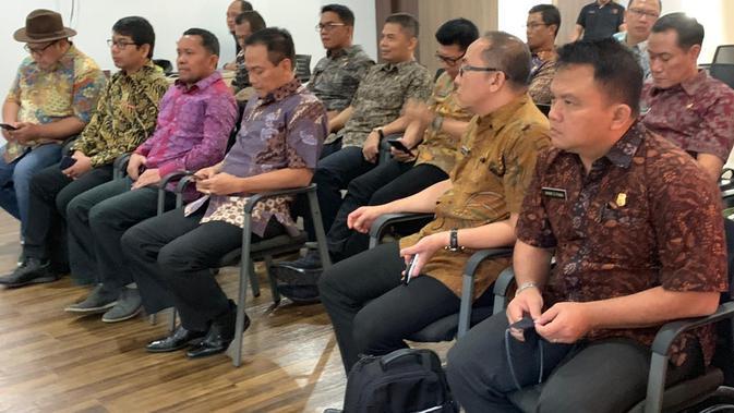 Rombongan perwira SESPIMTI Polri Angkatan ke-28 ini dipimpin oleh pembina dan pengajar (widyaiswara) SESPIMTI SESPIM Polri, Brigjen Pol Suryambodo. (Foto: Liputan6/Istimewa)