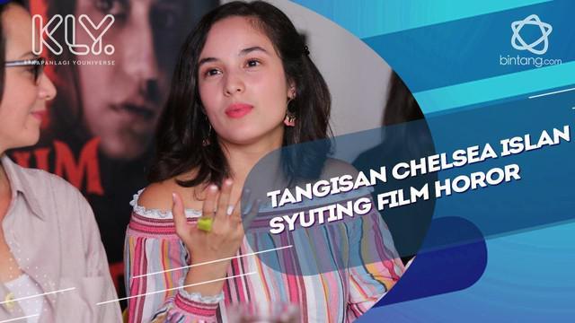 Cerita Chelsea Islan yang sampai menangis di film Horor sebelum iblis menjemput.